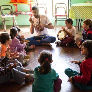 Taller de Capoeira en La Huella