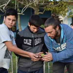 Taller de huerta - Centro Juvenil Juntos