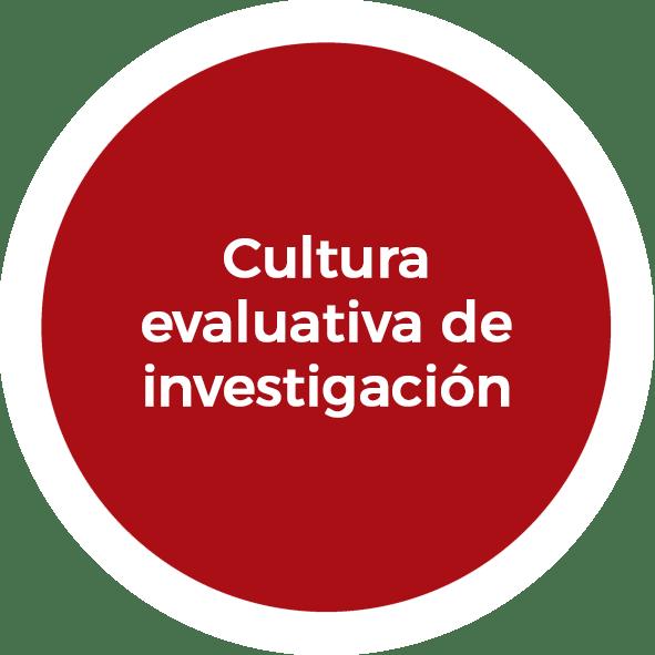 Cultura evaluativa de investigación