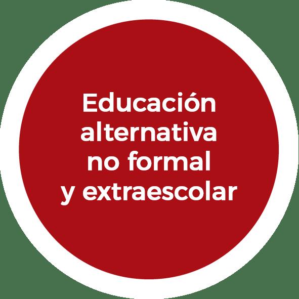 Educación alternativa no formal y extraescolar