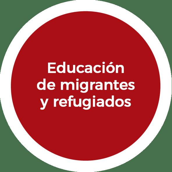 Educación de migrantes y refugiados