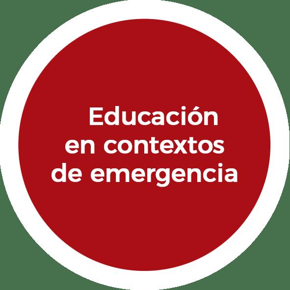 Educación en contextos de emergencia