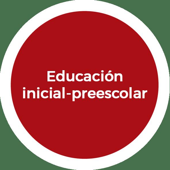 Educación inicial-preescolar