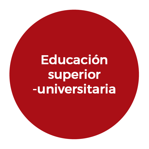 Educación superior-universitaria