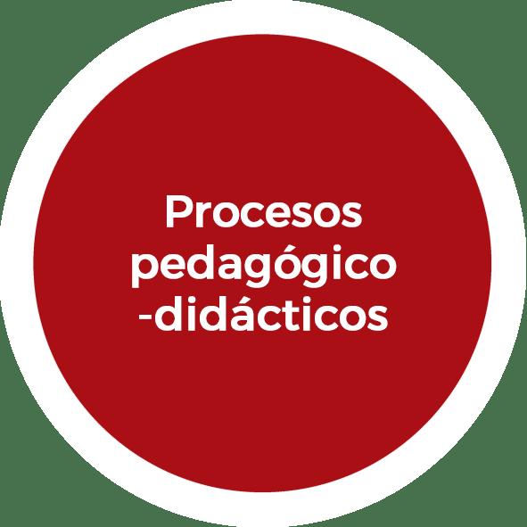 Procesos pedagógico-didácticos