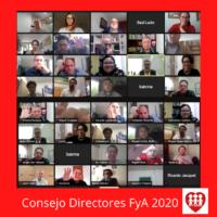 último Consejo Directores FyA 2020